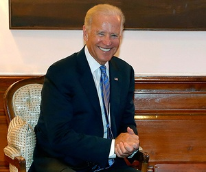 Vice President Joe Biden during his meeting with India's Prime Minister Manmohan Singh