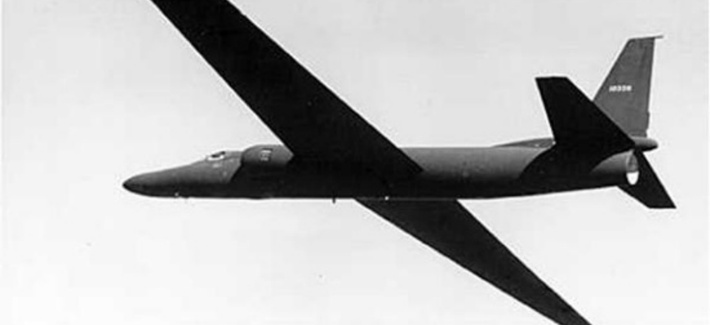 Early U-2 in flight.