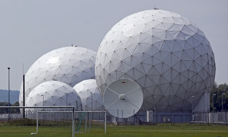 One of the NSA's monitoring bases in southern Germany