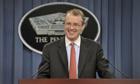 Pentagon press secretary George Little announced he will retire on Nov. 15.