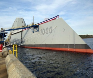 The Zumwalt is the Navy's new stealth destroyer.