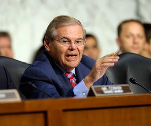 Sen. Robert Menendez, D-N.J., one of the sponsors of the forthcoming sanctions bill