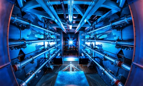 These are the preamplifiers used to boost the energy of the laser beams used at the National Ignition Facility