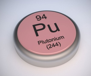 Plutonium's half-life  runs from days to thousands of years.