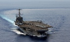 The USS George Washington, the carrier that could face the chopping block if