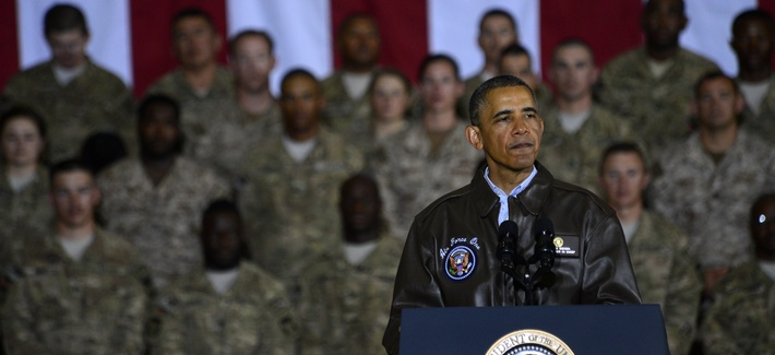 President Barack Obama made a surprise visit to troops in Afghanistan over Memorial Day weekend.