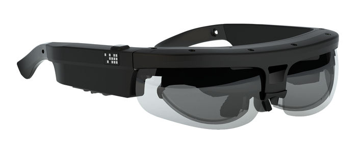 A picture of the Osterhout Design Group's X-6 glasses.