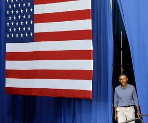 President Obama is introduced at Laborfest 2014 at Henry Maier Festival Park, Sept. 1, 2014, in Milwaukee.
