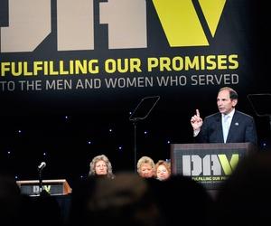 Secretary of Veterans Affairs Robert A. McDonald, speaks at the DAV 2014 National Convention on Aug. 9, 2014, in Las Vegas.