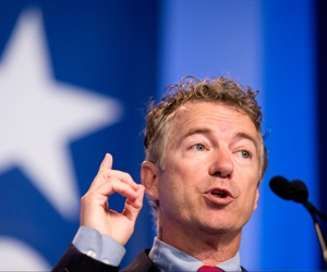 Sen. Rand Paul, R-Ky. speaks at the 2014 Values Voter Summit in Washington, Sept. 26, 2014.