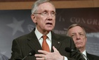 Senate Majority Leader Harry Reid, D-Nev., and Sen. Dick Durbin, D-Ill.