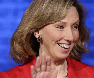 Republican Barbara Comstock has a slight lead in the close race to replace fed-friendly Rep. Frank Wolf, R-Va.
