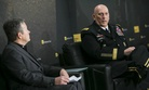 Army Chief of Staff Gen. Ray Odierno speaks at the Defense One Summit, with NPR's Tom Bowman, on Wednesday.