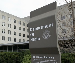 An electrical transformer explosion caused power outages at several government buildings, including the State Department.