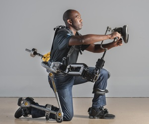 The FORTIS exoskeleton from Lockheed Martin could increase productivity of naval shipyard builders by 20%,, according to the manufacturers.