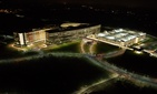 The outside of the National Geospatial Intelligence Agency, in Springfield, Virginia.