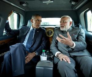 President Obama meets with Indian Prime Minister Narendra Modi on September 30, 2014.