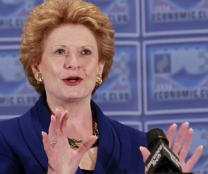 """Closing facilities and cutting services will lead to delays that will harm Michigan businesses and families,"" said Sen. Debbie Stabenow."
