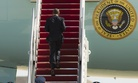 President Barack Obama climbs the steps of Air Force One before departure at Andrews Air Force Base, Md., Wednesday, March 18, 2015.