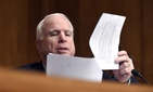 Sen. John McCain, R-Ariz., at a hearing on Capitol Hill in Washington, July 9, 2014.