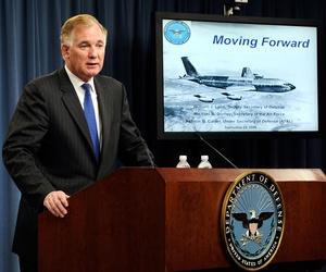 Then-Deputy Secretary of Defense William Lynn speaks at the Pentagon Sept. 24, 2009.