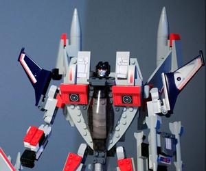 Hasbro's Starscream decepticon action figure.