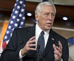 """Rep. Steny Hoyer, D-Md., called the hacks """"egregious"""" and """"very, very troubling."""""""