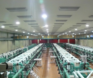 The GEKKO XII laser, at the Osaka University's Institute for Laser Engineering.
