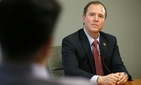 Rep. Adam Schiff, D-Calif., ranking member on the House Intelligence Committee, participates in an interview with The Associated Press, Tuesday, May 12, 2015.