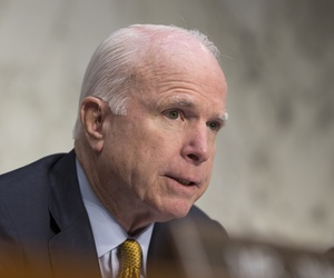 Sen. John McCain, at a Sept. 22 Armed Services Committee hearing.