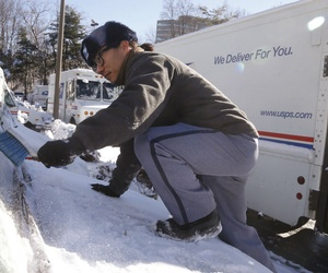 Announcement comes as the Postal Service is heading into its busy holiday season.