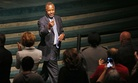 Republican presidential candidate Dr. Ben Carson speaks at the International Church of Las Vegas Sunday, Nov. 15, 2015, in Las Vegas.