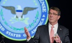 Defense Secretary Ash Carter speaks at George Washington University in Washington, Wednesday, Nov. 18, 2015, announcing the first phase of personnel reforms in his Force of the Future initiative.
