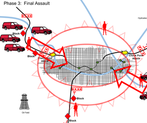 JIDA officials provided these briefing slides for illustration of advancing bomb threats coming from ISIS.