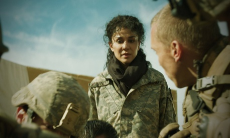 Layla Alizada portrays a US military interpreter in the film Day One.