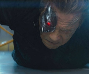 A scene from the movie Terminator Genisys.