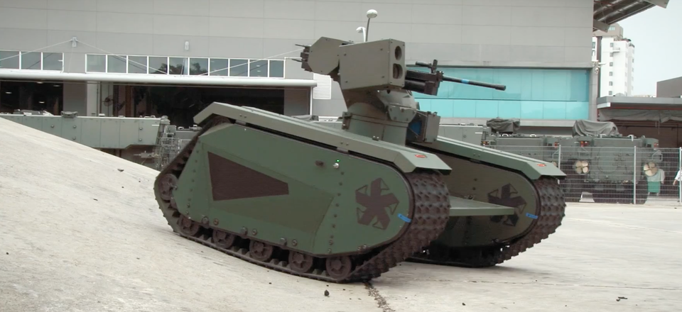 The Titan unmanned ground vehicle by Milrem and QinetiQ North America