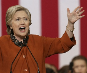 Democratic presidential nominee Hillary Clinton campaigns in North Carolina.