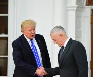 Trump and Mattie shake hands in November.