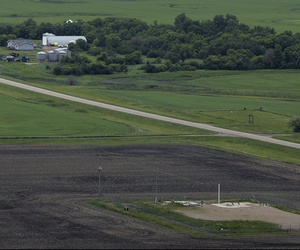 Nuclear missile sites are scattered across the American heartland, like this ICBM launch site in Minot, N.D.