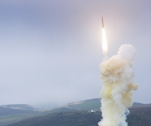 The Missile Defense Agency successfully conducted a flight test of a three-stage Ground-Based Interceptor from Vandenberg Air Force Base, Calif.