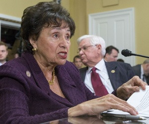 """""""There is no chance that government funding bills could be enacted while adhering to such a budget,"""" said Rep. Nita Lowey, D-N.Y., the ranking member of the House Appropriations Committee."""