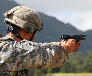 The Army's red-tape-laden quest for a new pistol to replace the M9 was cited as an example of bad Pentagon acquisition efforts.