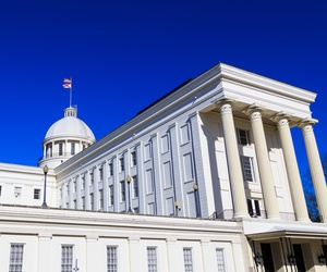 The Alabama State Capitol in Montgomery