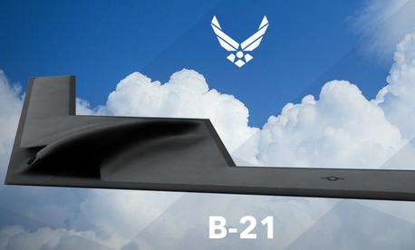 U.S. Air Force artist rendering of B-21 Raider