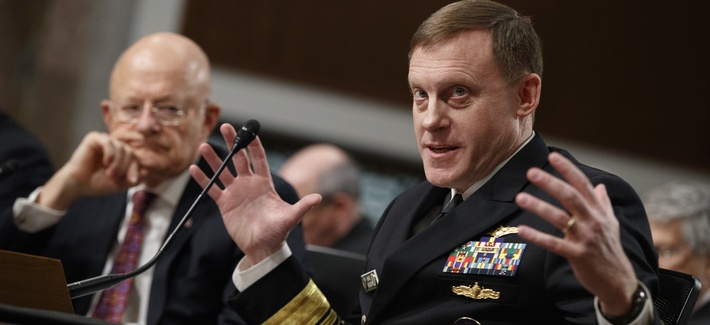 Admiral Michael Rogers Testifying Before Congress on May 9, 2016