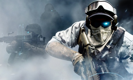 An illustration from Ghost Recon: Future Soldier by Microsoft.