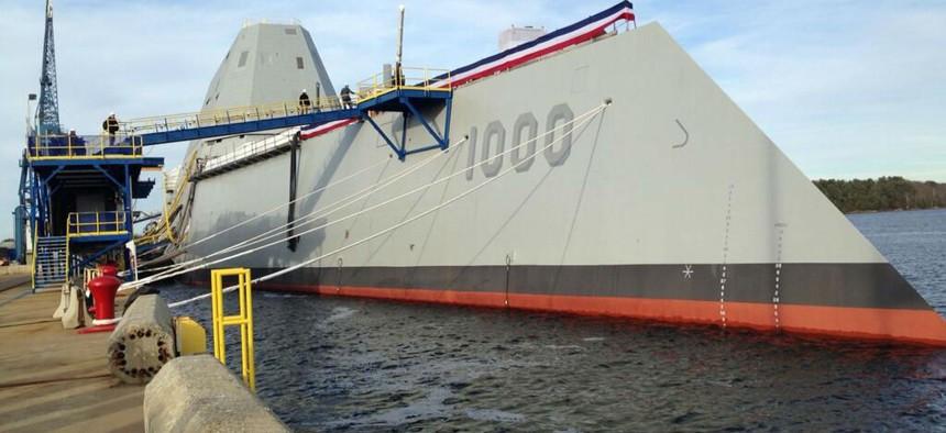 The Zumwalt is the Navy's new stealth destroyer.