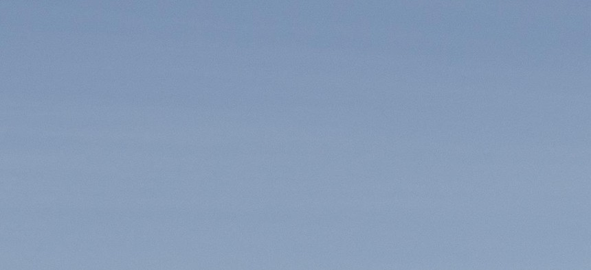 A MQ-9 Reaper taxis in at Holloman Air Force Base, N.M., April 24, 2013.