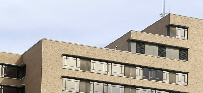 Texas Health Presbyterian Hospital Dallas, where Ebola patient Thomas Eric Duncan was being treated.
